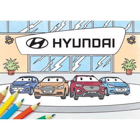 Omaľovanky Hyundai